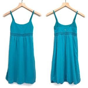 Lululemon Athletica Teal Blue Bliss Dress - Size 2